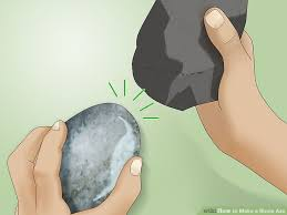how to make a stone axe with pictures wikihow