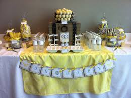yellow baby shower ideas 31 cool baby shower ideas for boys table decorating ideas