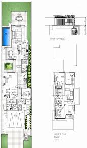 narrow home floor plans excellent narrow block house designs floor plans gallery simple