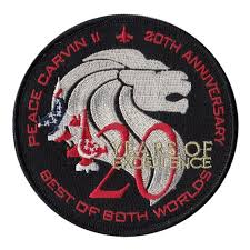 20 yr anniversary 425 fs 20 year anniversary patch 425th fighter squadron patches