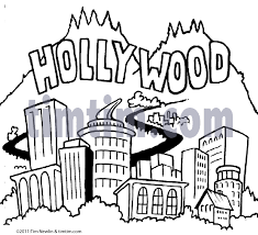 free drawing of hollywood bw from the category movies u0026 magic