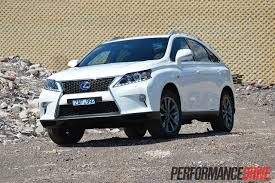 suv lexus white 2012 lexus rx 450h f sport review performancedrive