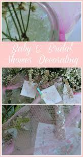 Bridal Shower Centerpieces Baby U0026 Bridal Shower Decorating What Meegan Makes