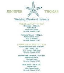 destination wedding itinerary template destination wedding itinerary template wedding welcome bag