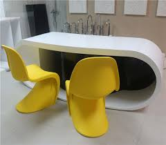 High End Reception Desks Modern Fashion Style Curved Reception Deskhigh End Front Desk