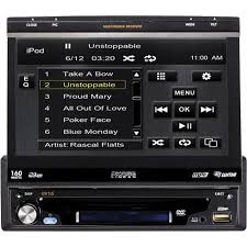 amazon com phase linear uv10 flip out multimedia receiver with 7