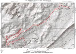 Grapevine Map Church Rocks Trail