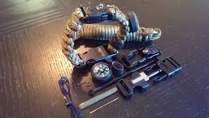 survival rope bracelet kit images Paracord bracelet with survival kit design your on emergency bug jpg