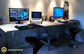 Ikea Desk Hack by Ikea Desk Hack Home Decor Hacks Projects U0026 Diy