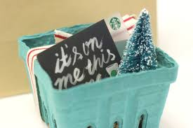 day one berry basket starbucks gift idea u2014 hey thuy