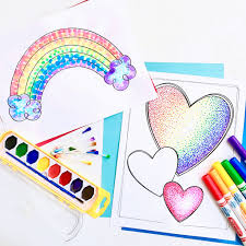 easy pointillism for kids pointillism art activities and