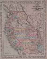 Map Of Arizona And California by Antique Maps Of New Mexico