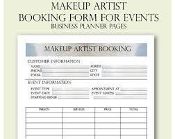 freelance makeup artist business card makeup artist etsy