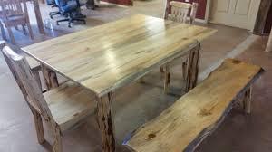 montana pioneer rustic log dining bench u2013 great northern logworks