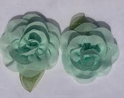 mint green flowers mint green flower etsy