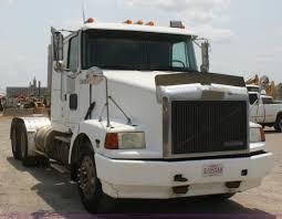 white volvo truck 1994 volvo white gmc wia semi truck item b6671 sold thu