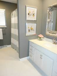 easy bathroom remodel ideas for brilliant decorating styles elegant design the white cabinets and grey wall added with pics