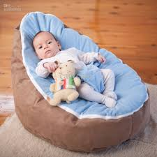 2017 new doomoo baby beanbag baby seat baby chair rebrown blue