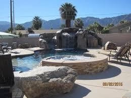 desert water oasis stunning pool waterfa vrbo