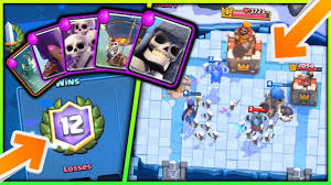 Halloween Skeleton Games by Spooky Halloween Deck We Got 12 Wins With It Clash Royale