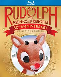 amazon rudolph red nosed reindeer 50th anniversary blu