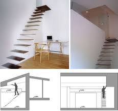 Contemporary Staircase Design Creative Hanging Floating U0026 Suspended Staircases