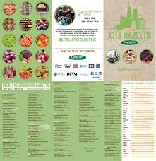 city of chicago chicago city markets 2017 schedule