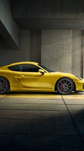 porsche cayman 2015 gt4 download wallpaper 750x1334 porsche cayman gt4 yellow 2015