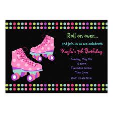 free roller skating birthday party invitations ideas drevio