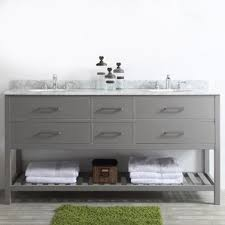 Double Vanity With Tower Bathroom Vanities You U0027ll Love Wayfair