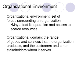 Operation Organization by Ppt Organizational Environment Powerpoint Presentation Id 281621