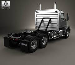 2015 volvo tractor volvo vnx 300 tractor truck 2013 3d model hum3d