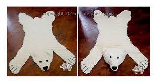 ravelry polar bear