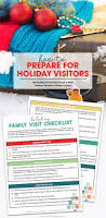 thanksgiving check list how to prepare for holiday family visits free printable checklist