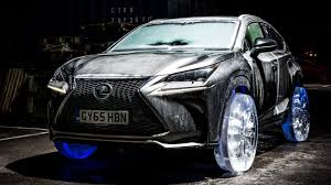 lexus nx suv models lexus nx suv gets wheels and tires made of ice 95 octane
