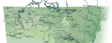 ozarks map mountain region
