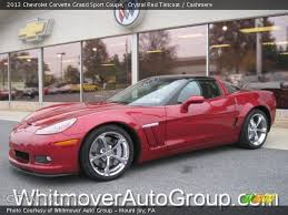 crystal red tintcoat 2013 chevrolet corvette grand sport coupe