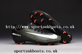 buy football boots uk nike mercurial vapor xi fg mens football boots black green orange