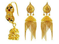 gold earrings design 22kt gold earrings collection of indian gold earrings jewelry