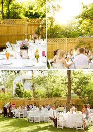 intimate backyard diy wedding every last detail