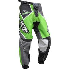 green motocross gear wulf crossfire motocross pants armour stretch panels heat