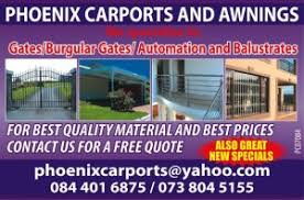 Awnings Durban Phoenix Carports U0026 Awnings Durban Free Classifieds In South Africa