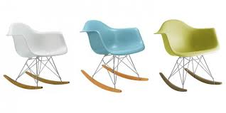 Charles Eames Rocking Chair Design Ideas Rocking Chair With Molded Plastic Armchair And Wire Leg