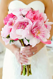 pink bouquet pink wedding bouquet ideas brides