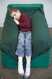 Armchair For Toddlers The Chair To Help Children With Autism Invention Mimics A Hug And
