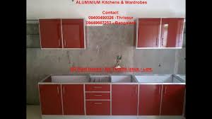 cost for kitchen cabinets aluminium kitchen kerala call 9400490326 low cost aluminum