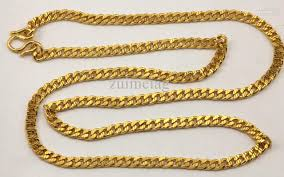 solid gold chain necklace images 2018 10k solid gold diamond cut cuban link chain necklace 9999 24 jpg