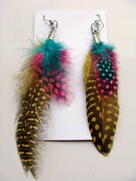 mr t earrings mr t feather earrings beautify themselves with earrings