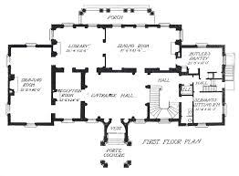 first ground floor plan of john russell pope u0027s meyer white house