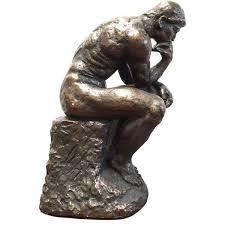 Home Decor Statues Austin Prod 1964 Rodin Thinker Statue 225 Liked On Polyvore